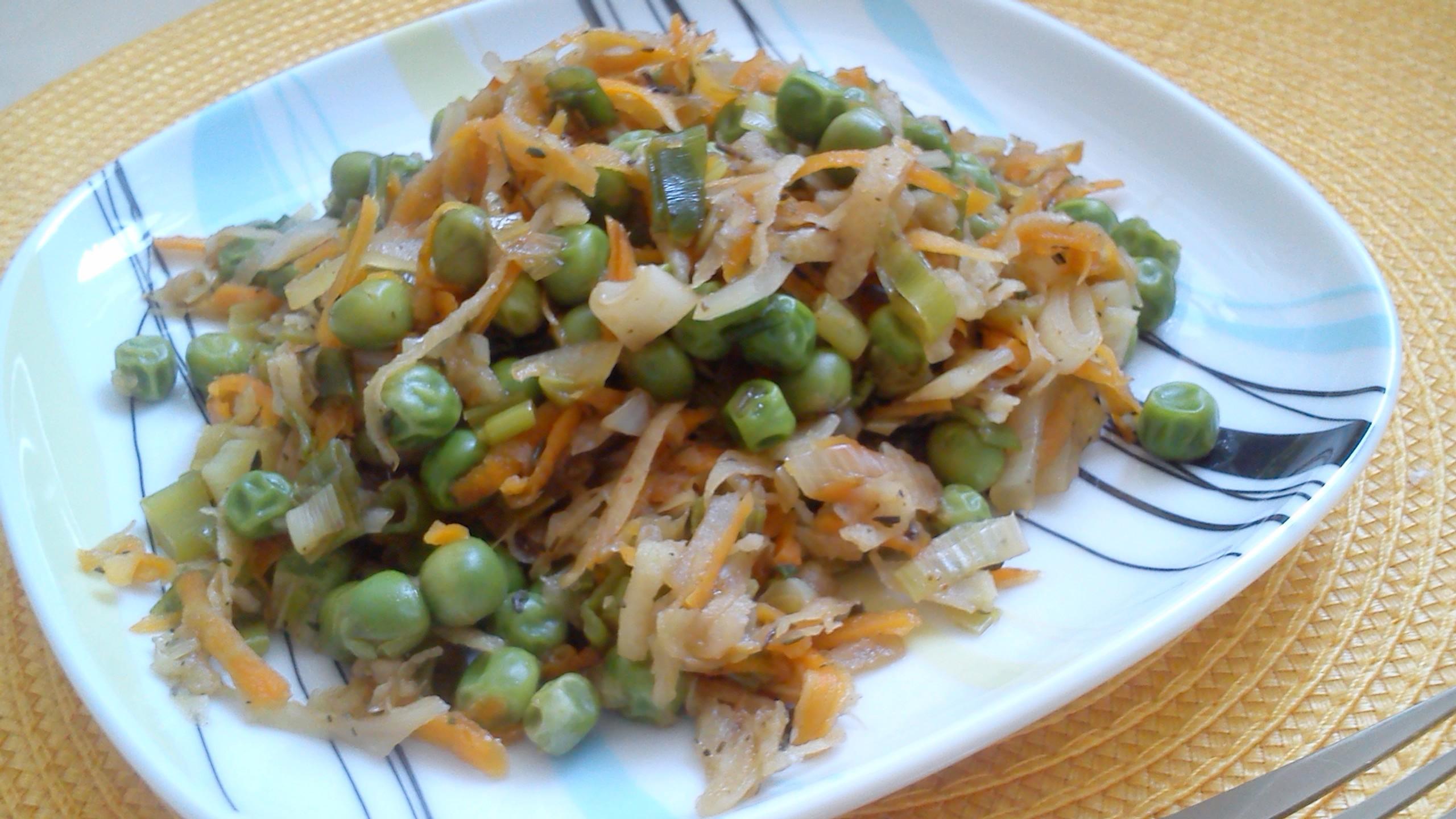 Zeleninová čína bez masa