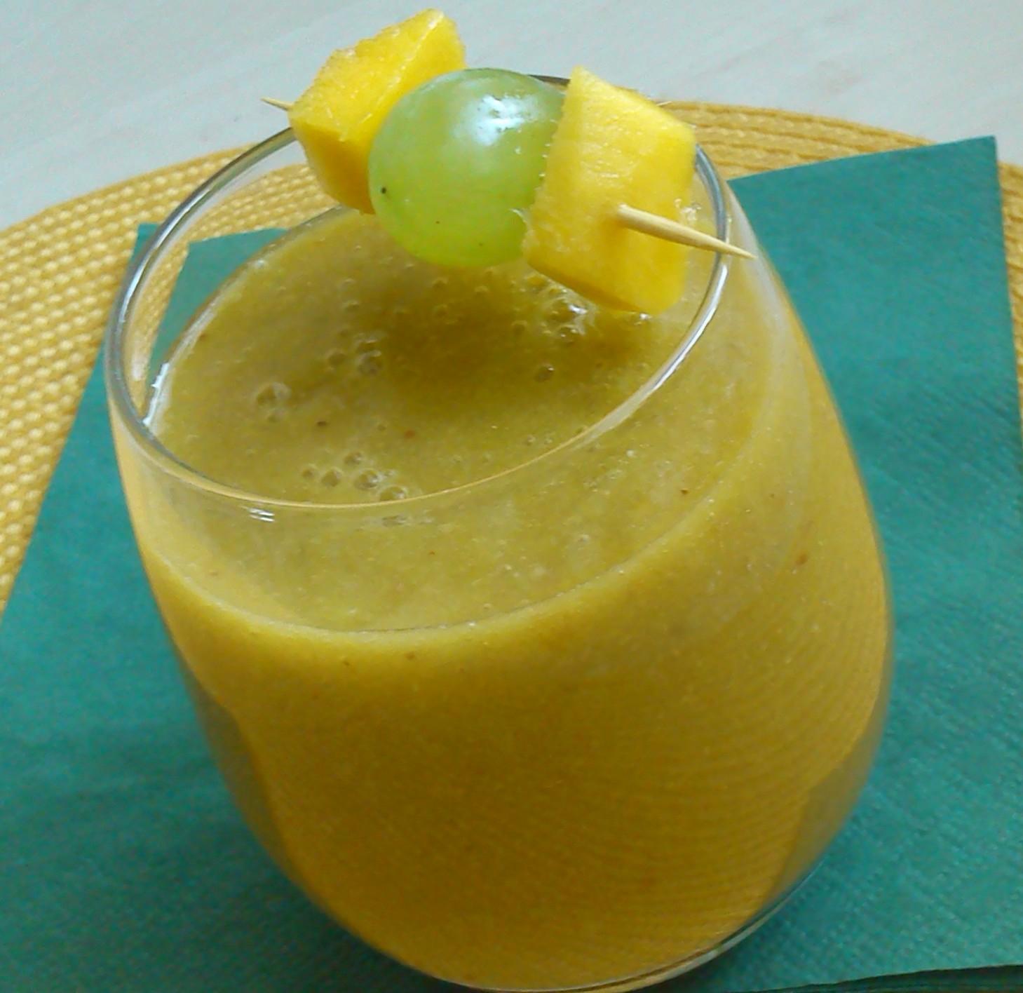 Zelené smoothie s mangem