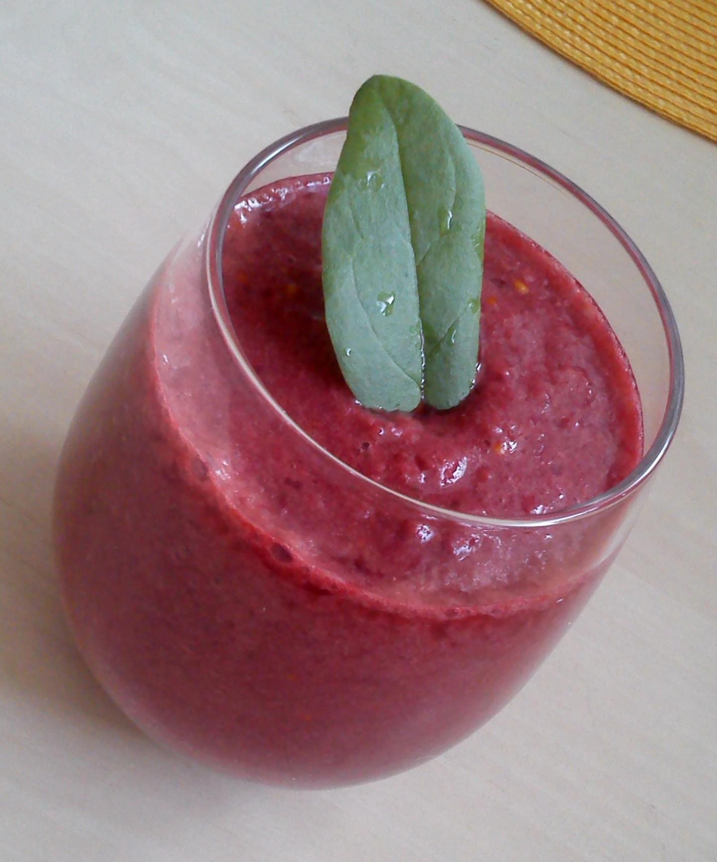 Fotografie receptu: Rybízové smoothie