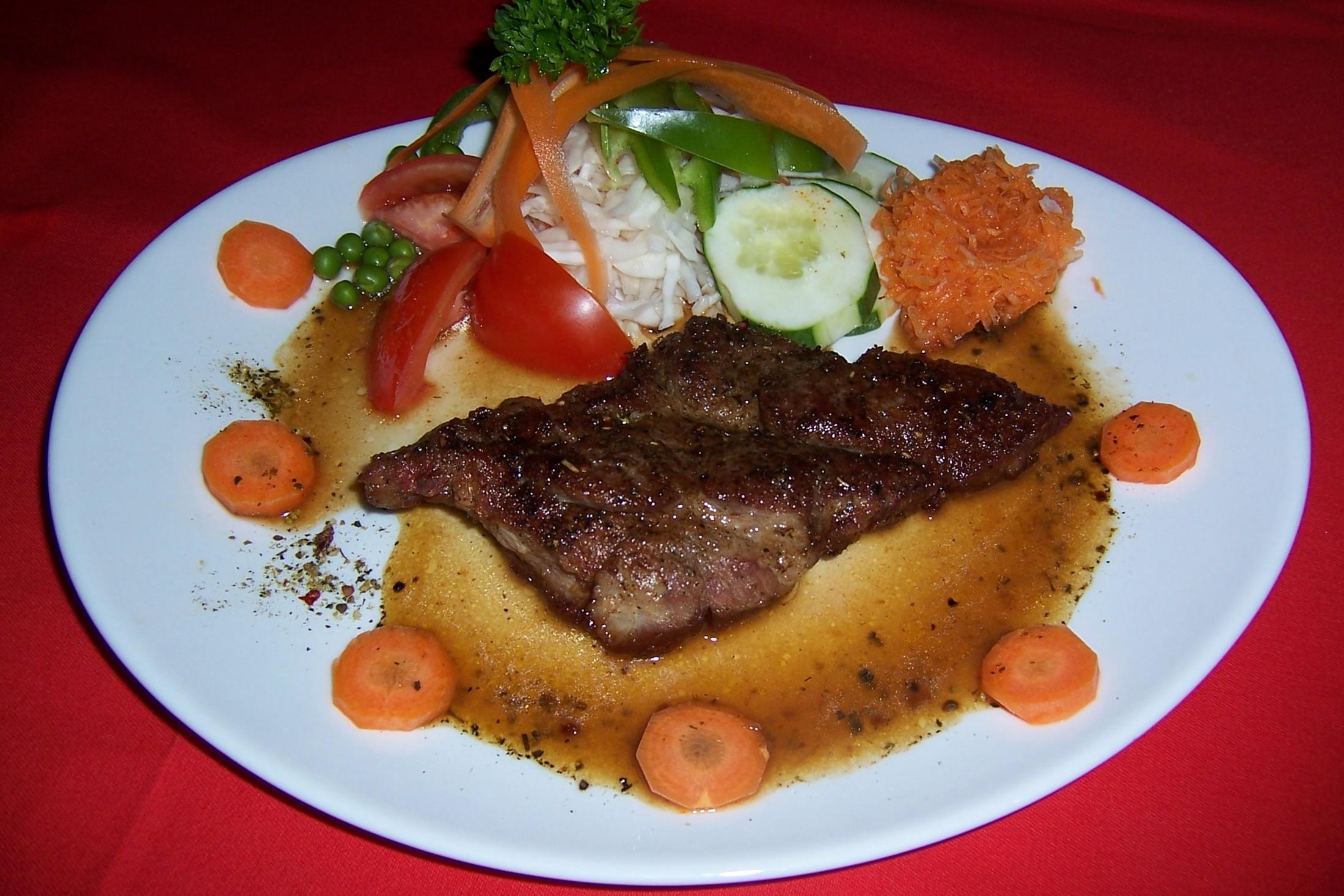 Fotografie receptu: Vepřová krkovice na pepři