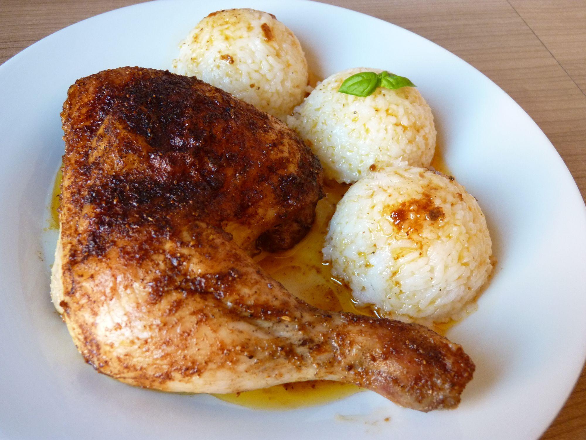 Fotografie receptu: Pečené kuře na pivu