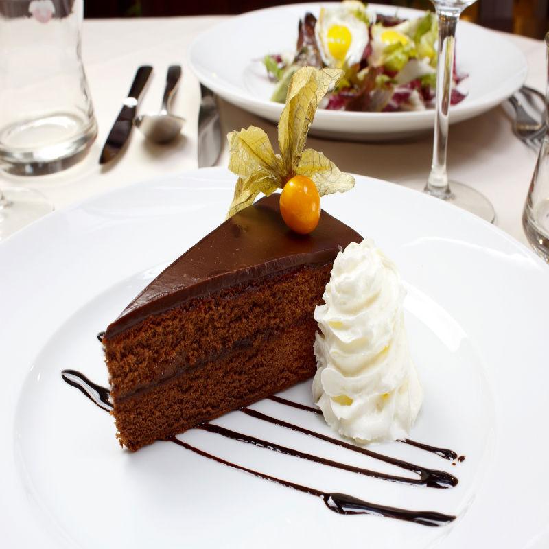 Originál Sachrův dort