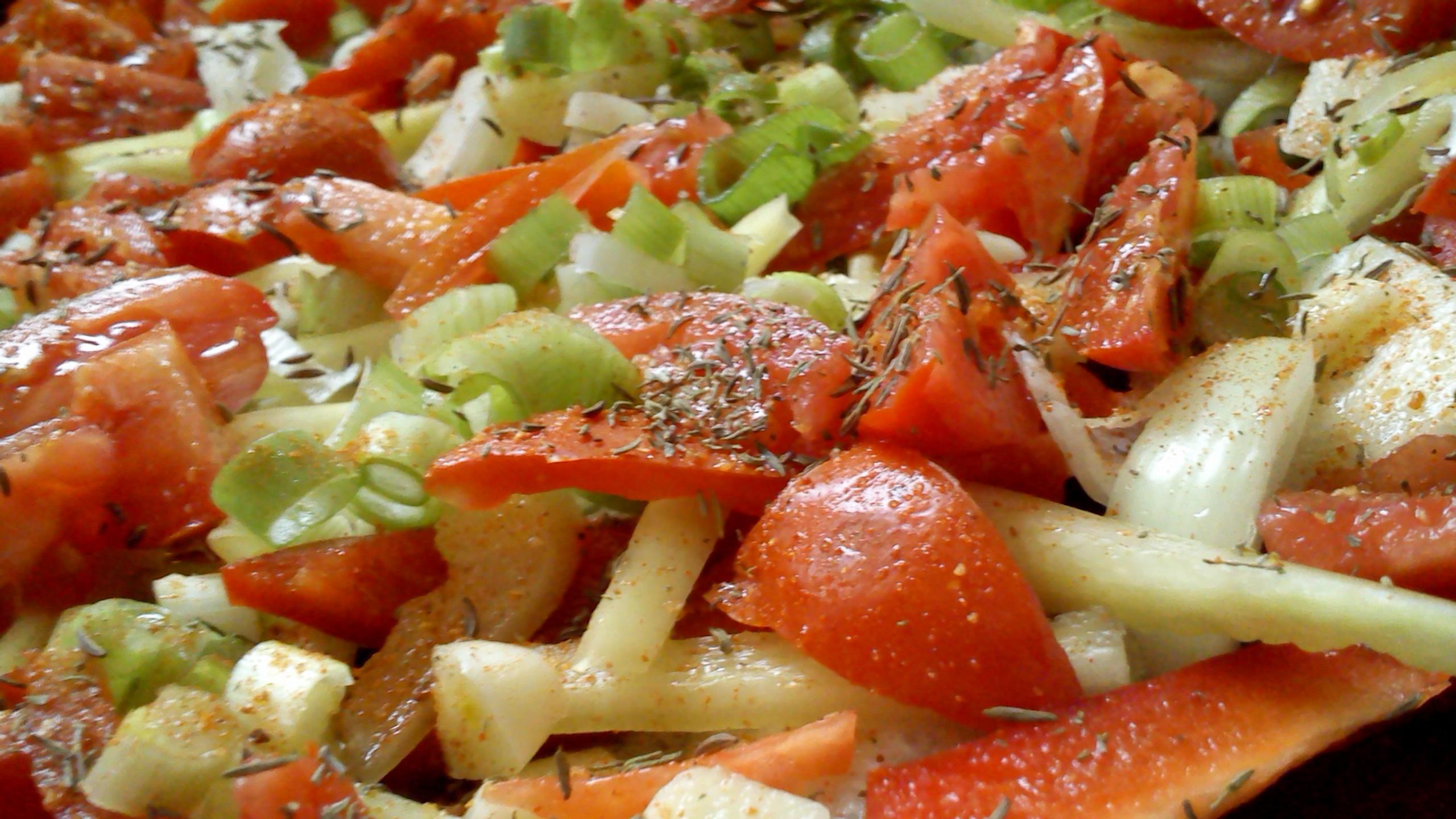 Pečená zelenina ze zahrádky