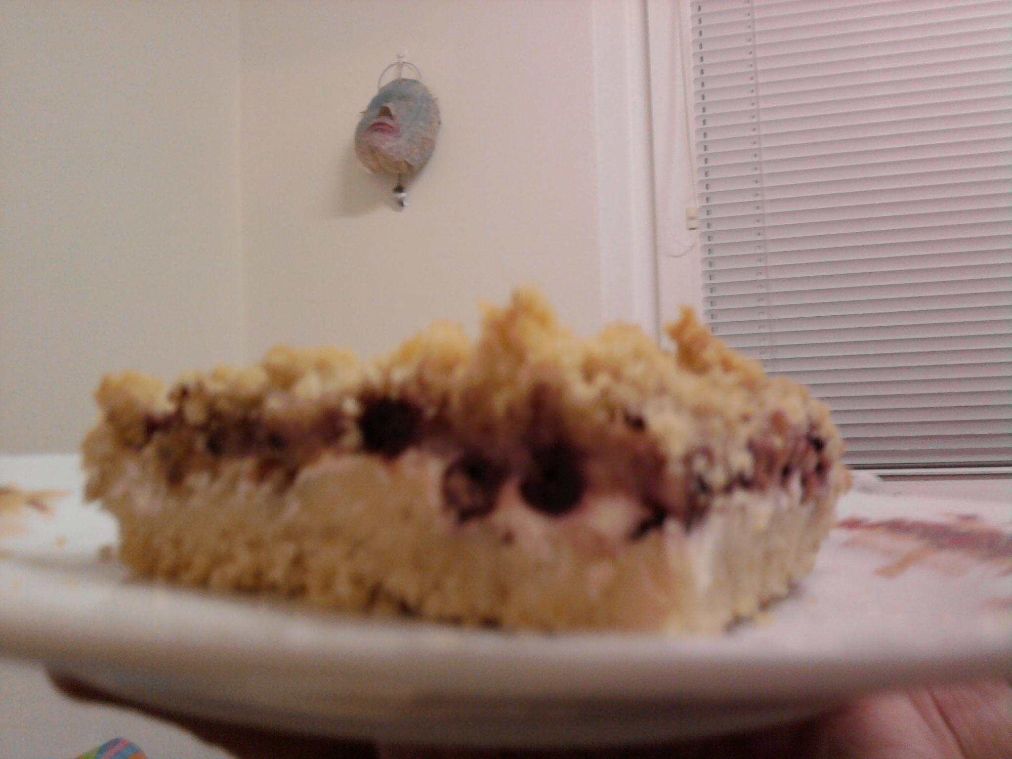 Tvarohový koláč z nouze