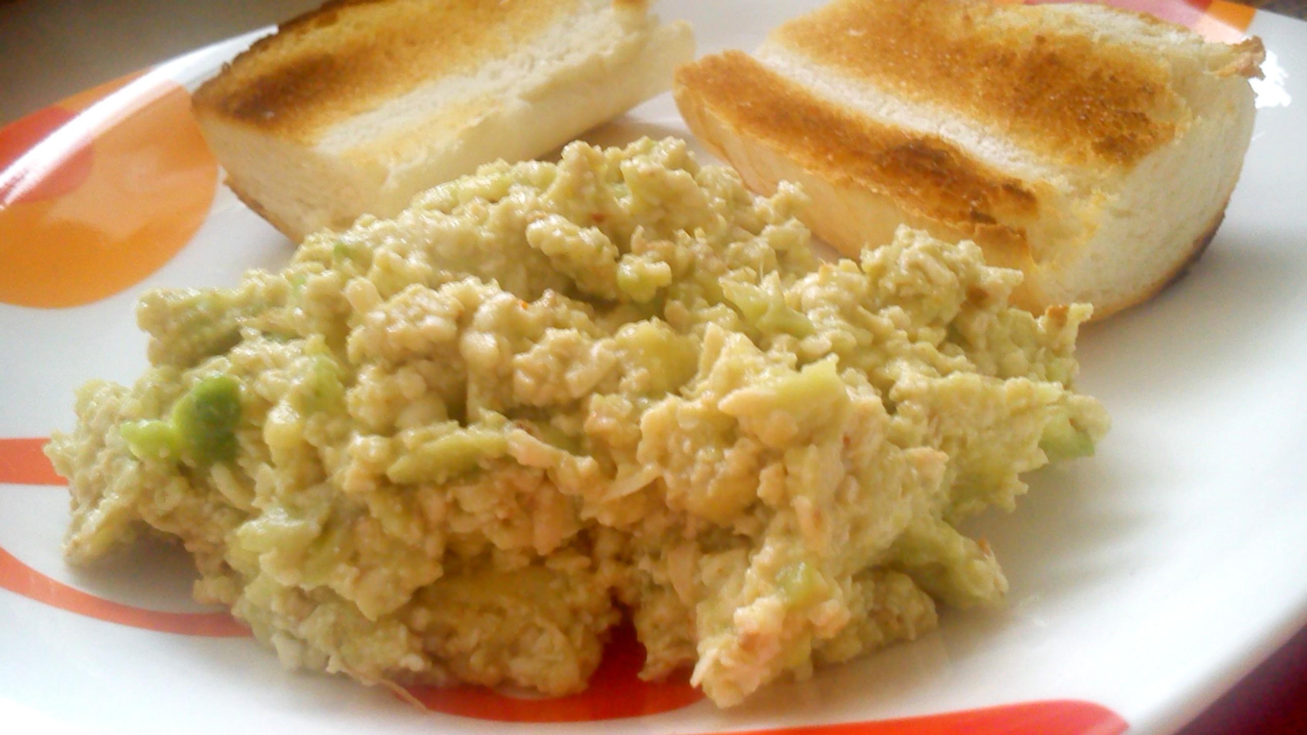 Tofu pomazánka s avokádem