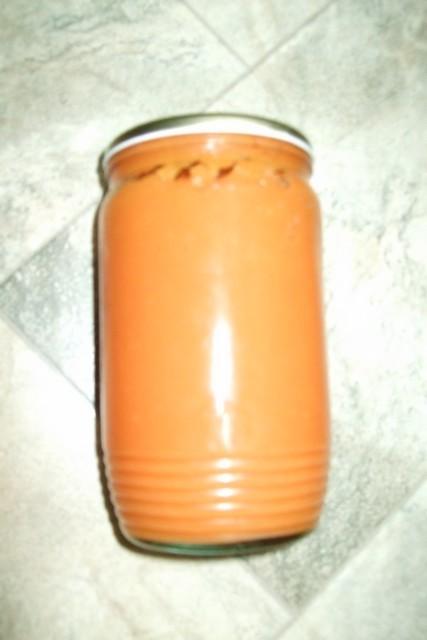 Dýňová marmeláda hokaido