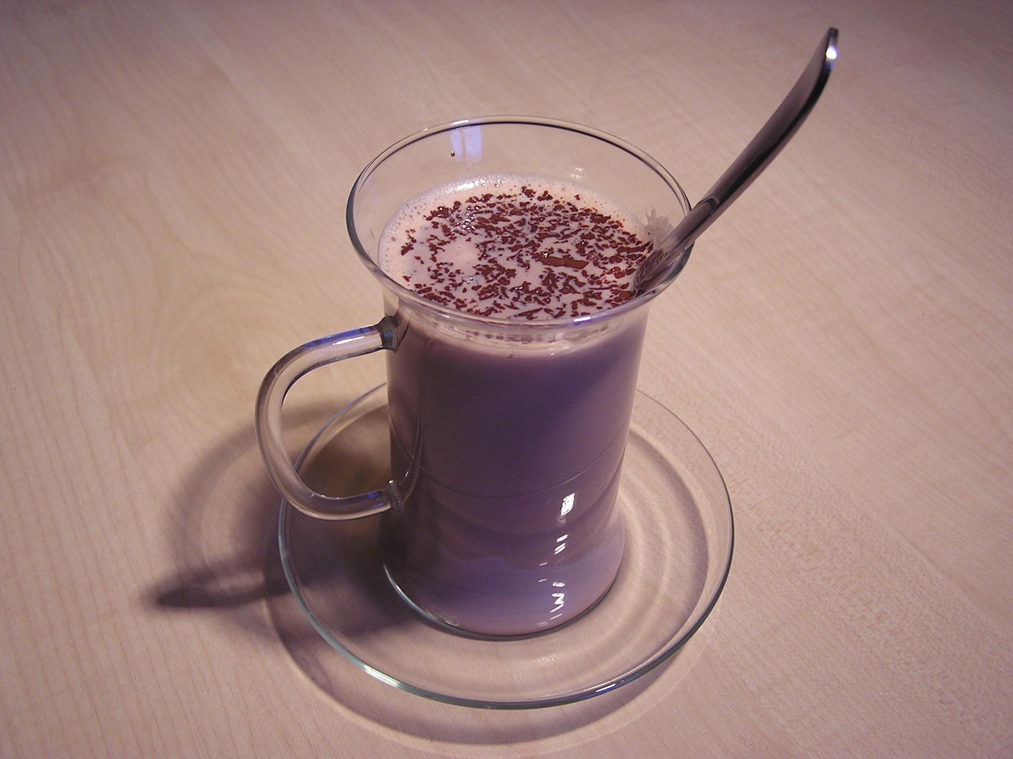 Horká domácí čokoláda pro malé mlsaly