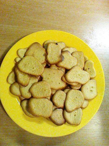 Piškoty ze špaldové mouky