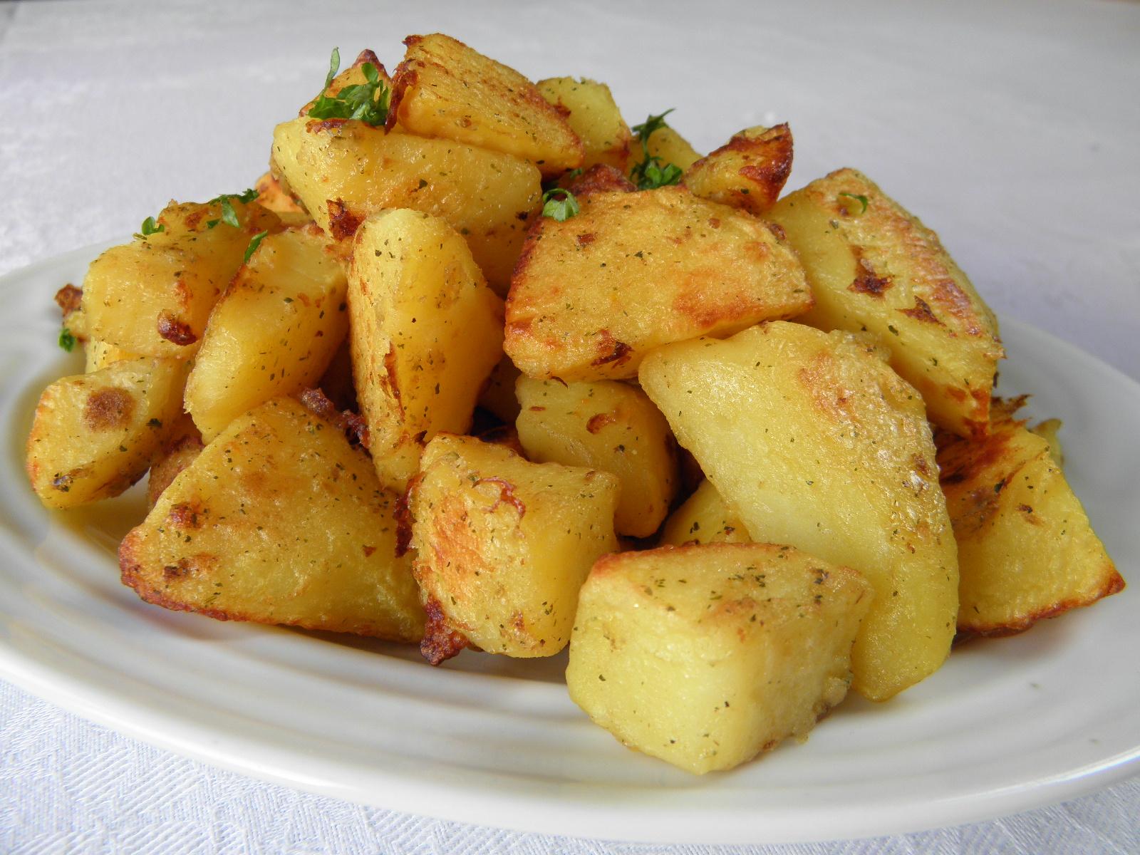 Ochucené gratinované brambory