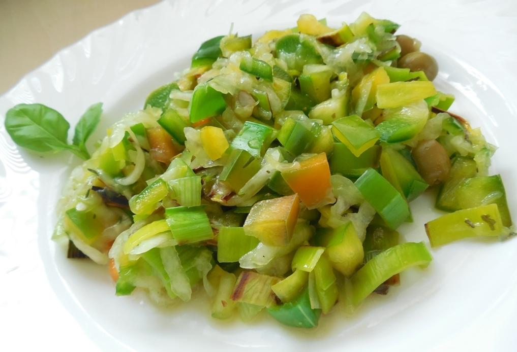 Zdravý zelený salát