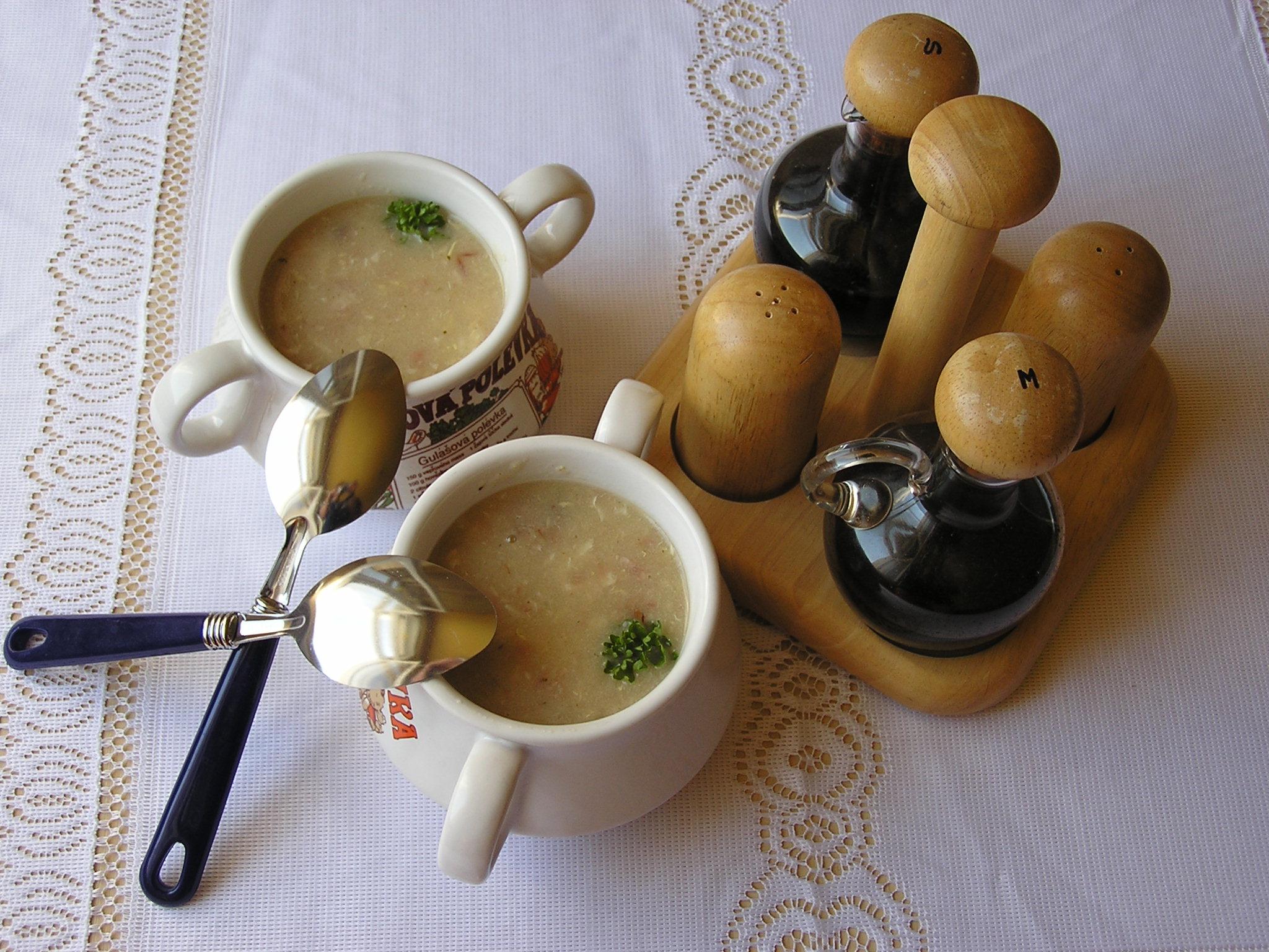 Babiččina uzená polévka