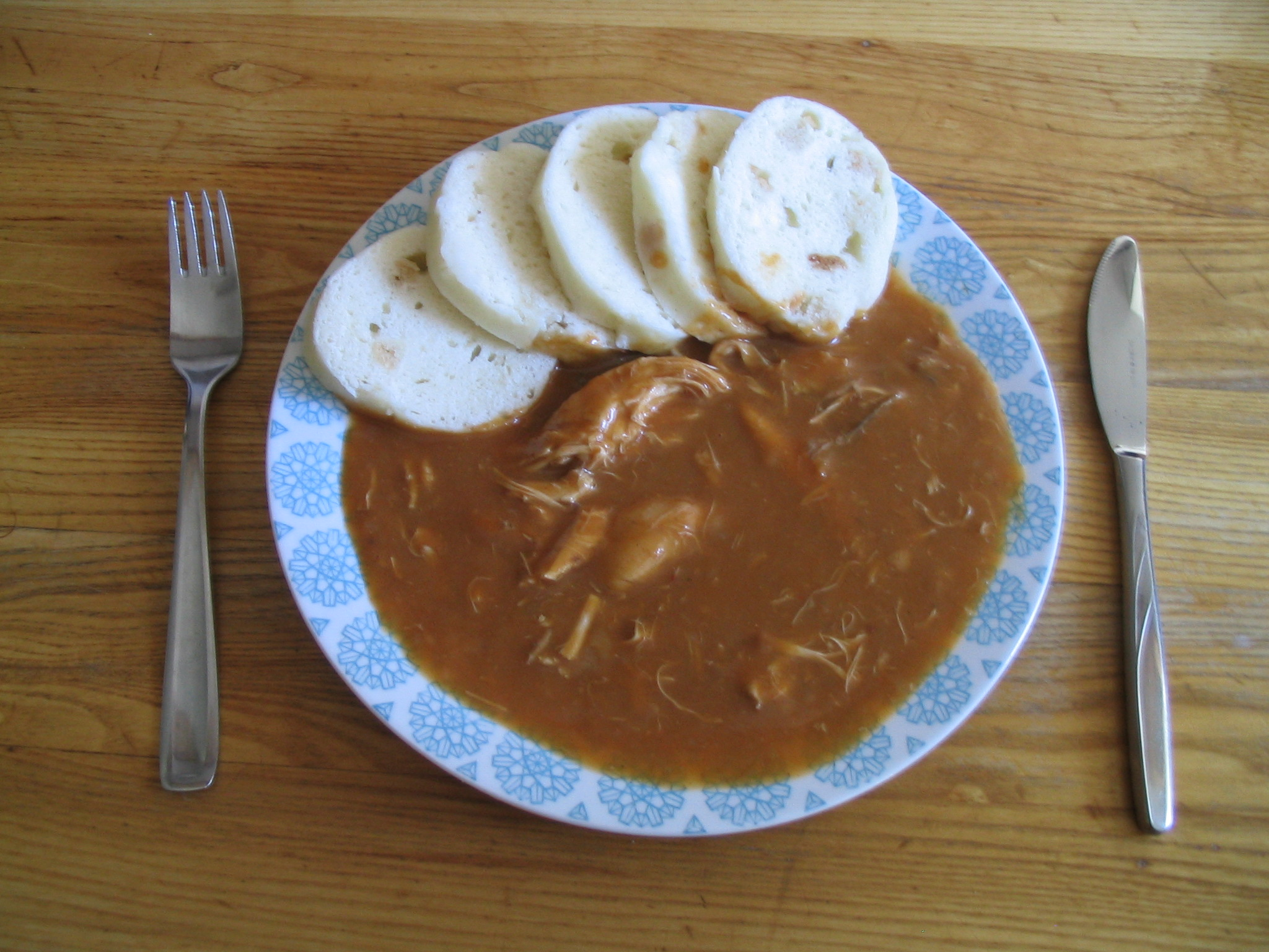 Fotografie receptu: Naše kuře na paprice