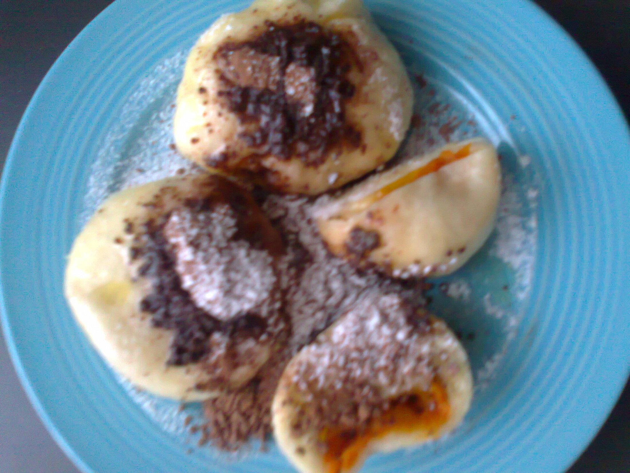 Fotografie receptu: Babiččiny ovocné knedlíky