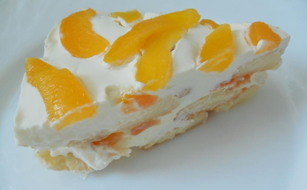 Nepečený dort s meruňkami