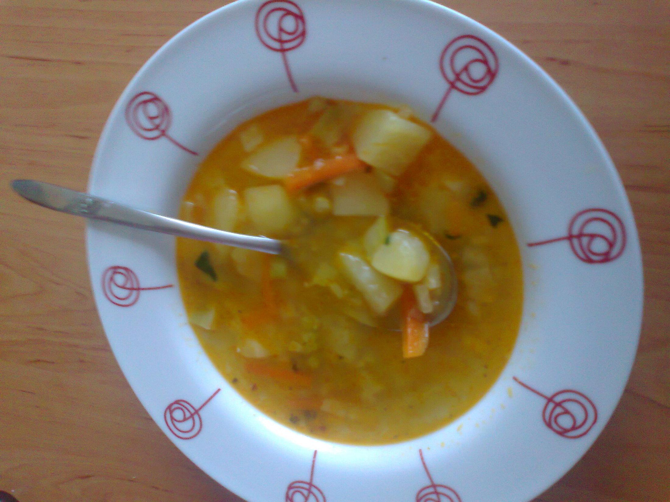 Věrčina zeleninová polévka