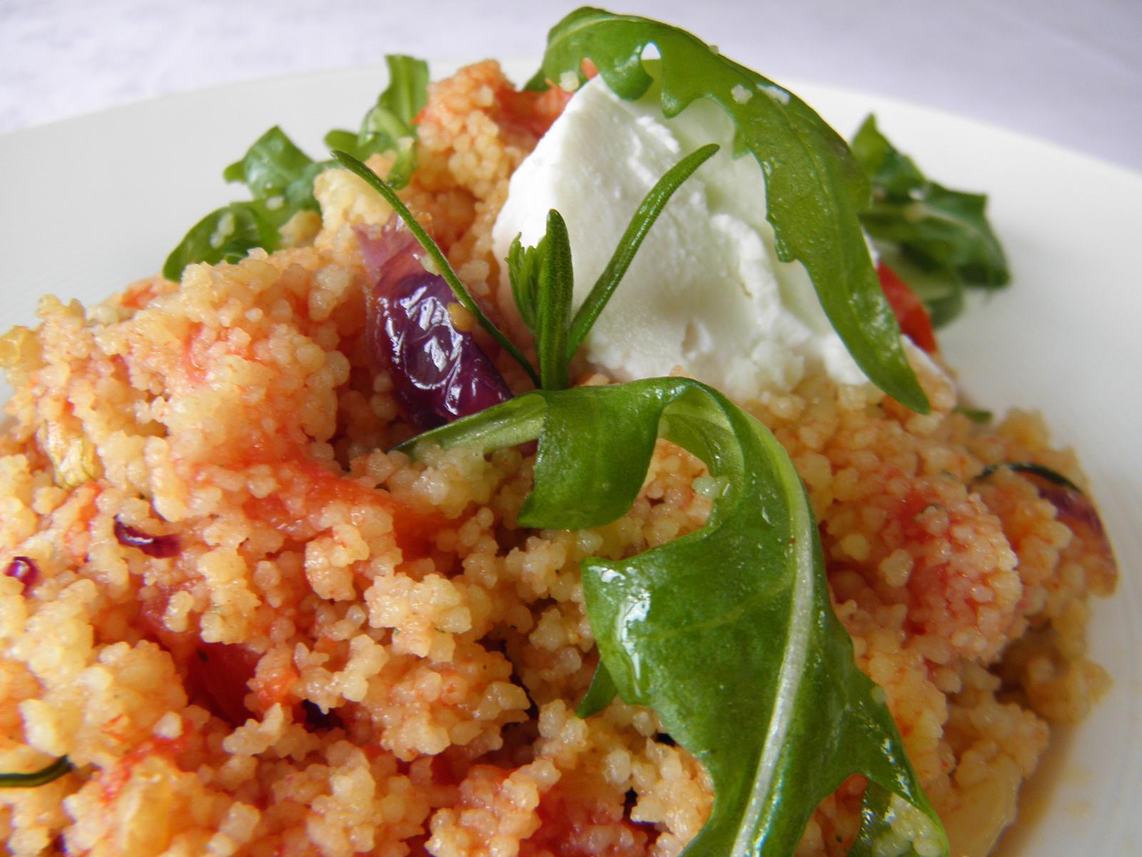 Fotografie receptu: Kuskus s rajčaty