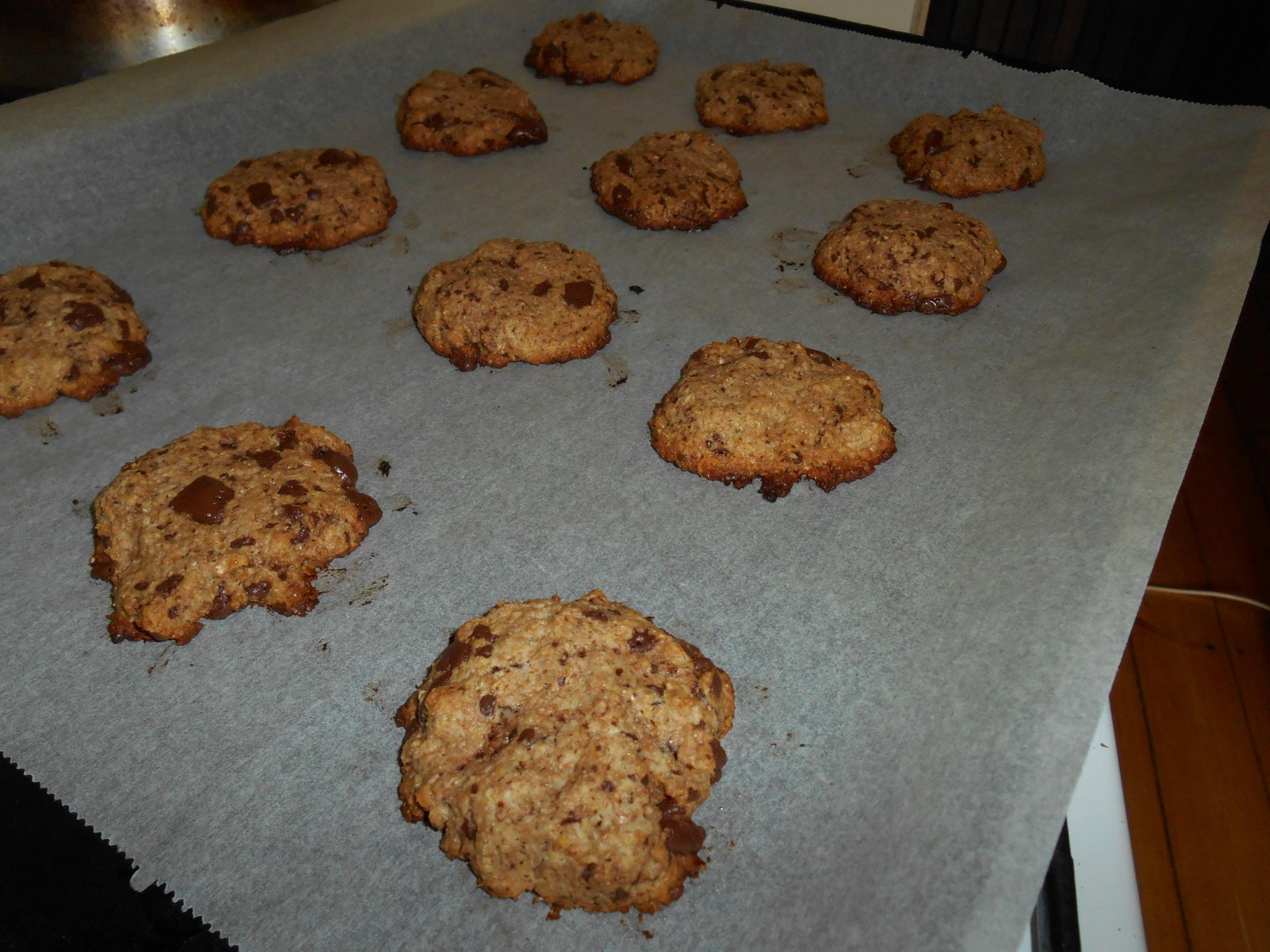 Fotografie receptu: Celozrnné cookies