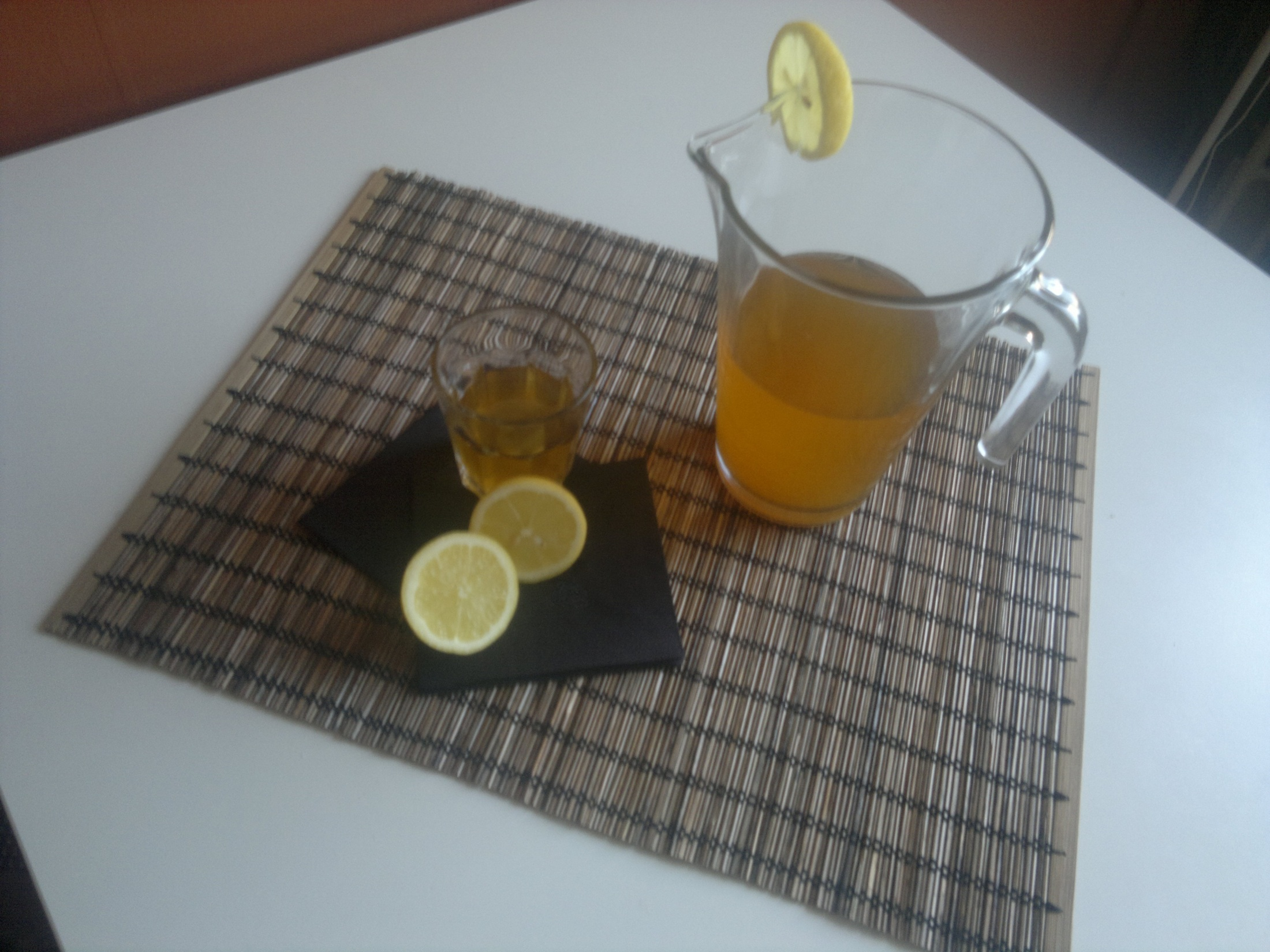 Domácí ice tea