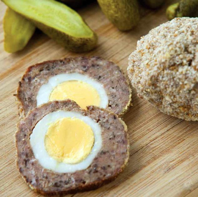 Fotografie receptu: Pštrosí vejce z mletého masa