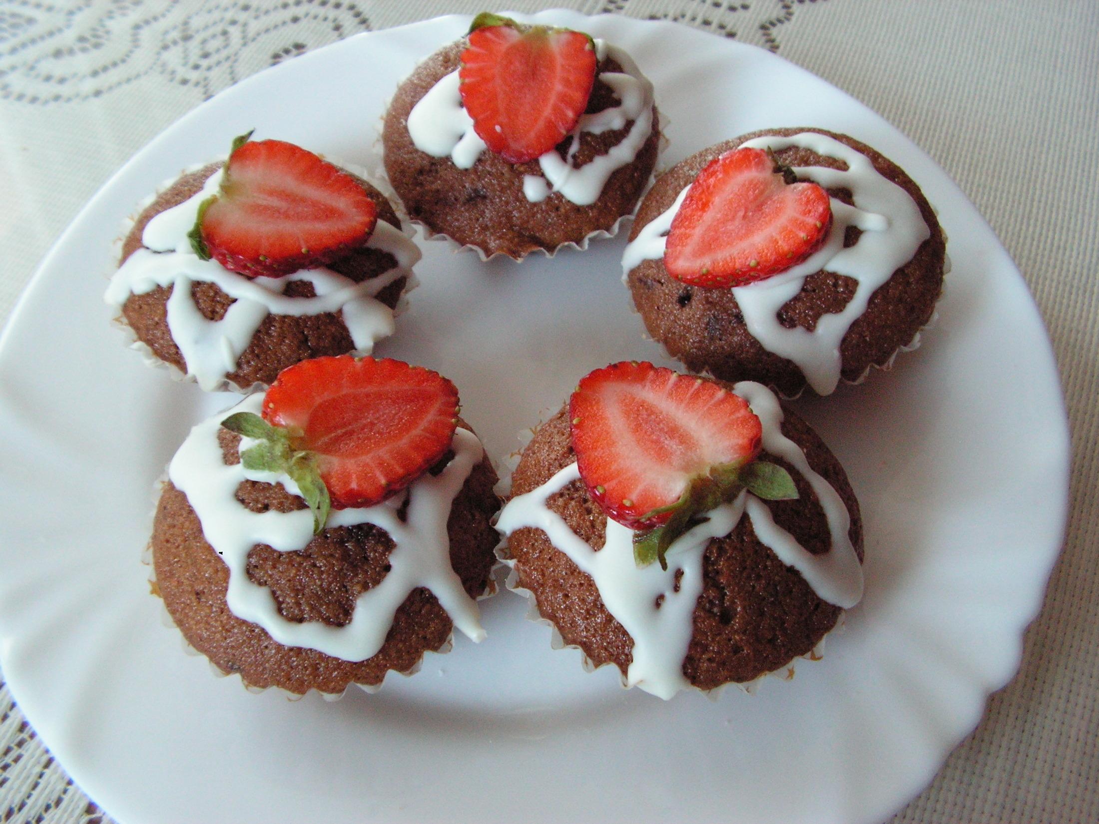 Fotografie receptu: Muffiny z čokolády Margot