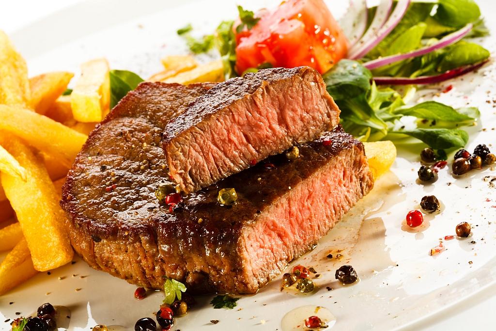 Ďábelský hovězí steak