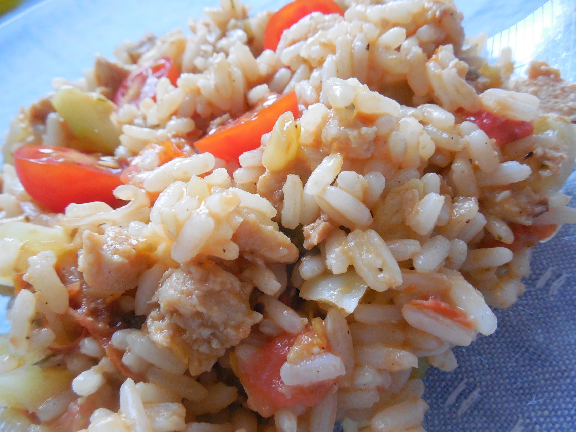 Sójové zeleninové rizoto