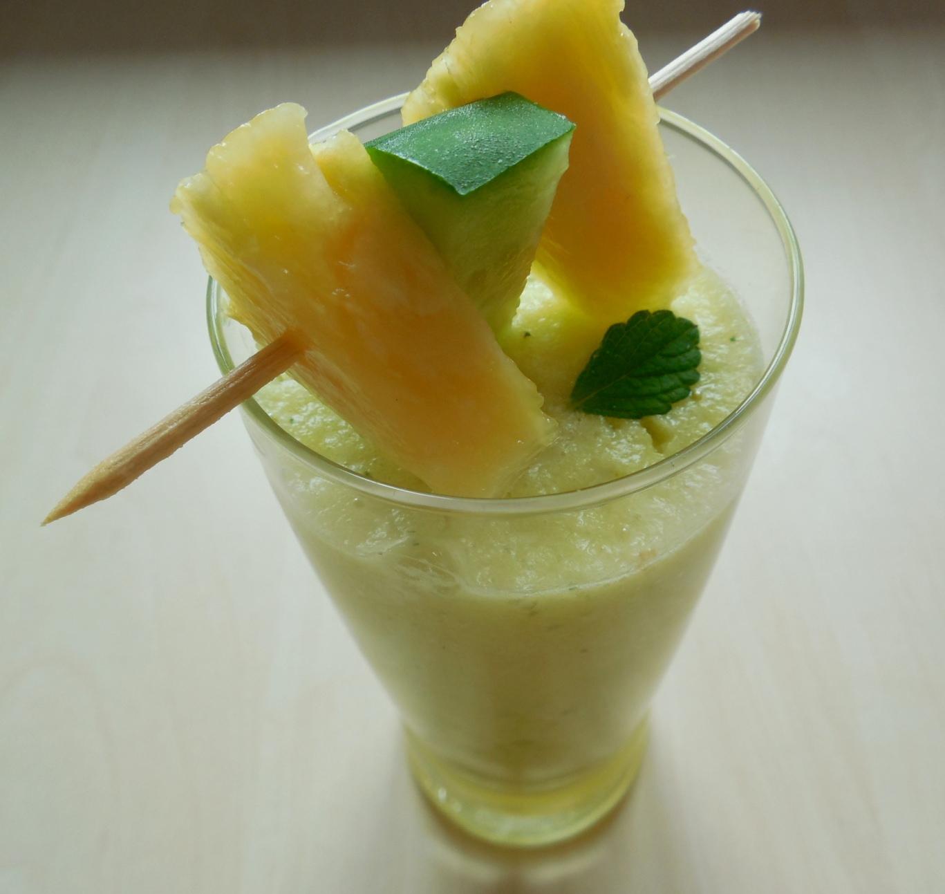 Fotografie receptu: Ananasové smoothie