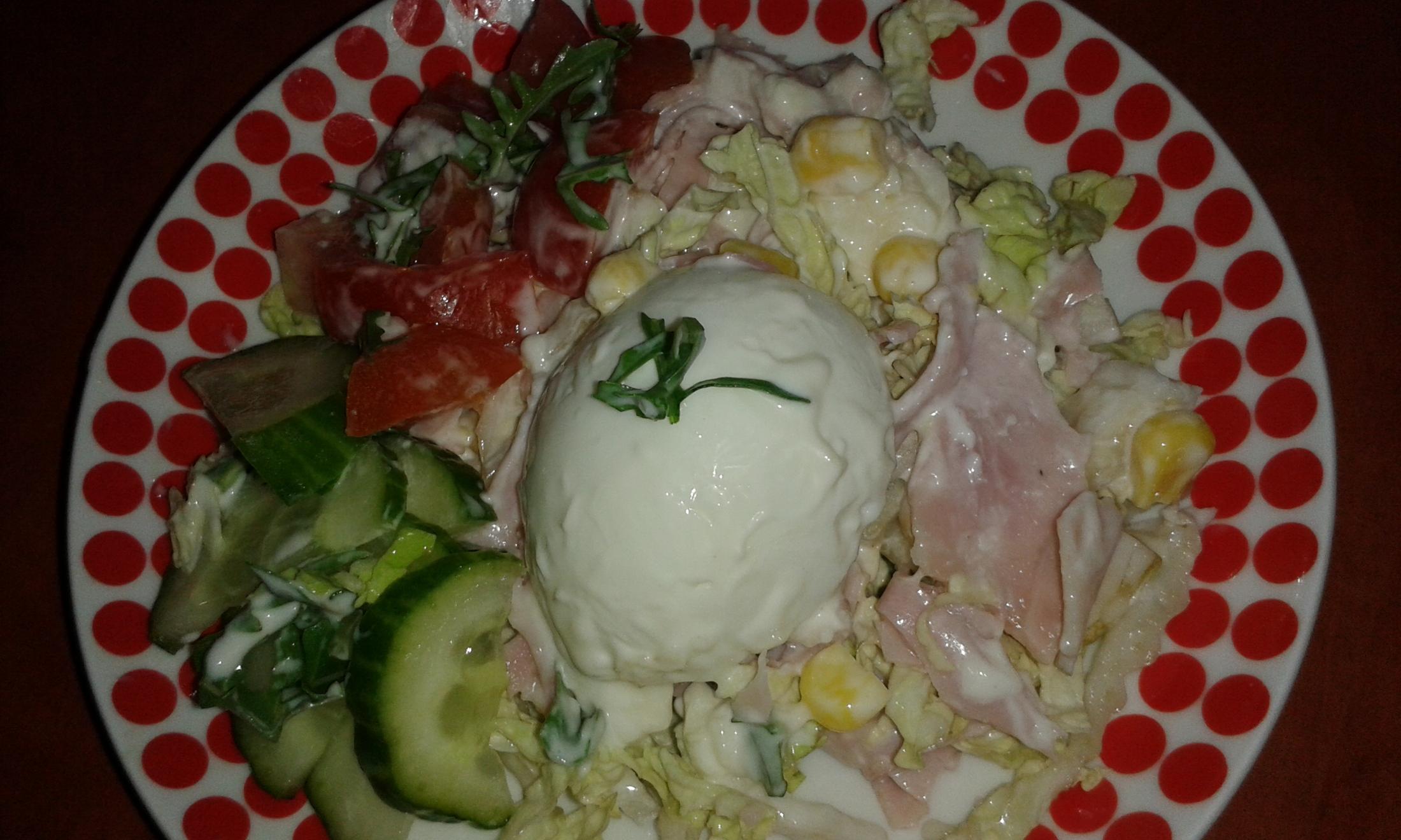 Fotografie receptu: Míchaný salát z čínského zelí