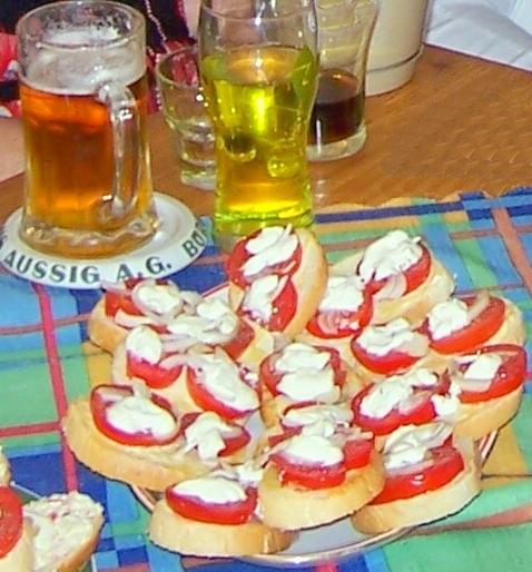 Rychlé párty chlebíčky