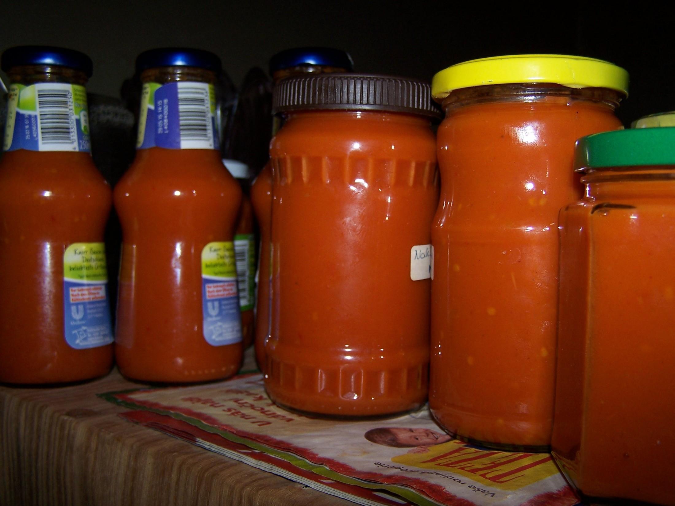 Fotografie receptu: Kvalitní a levný domácí kečup