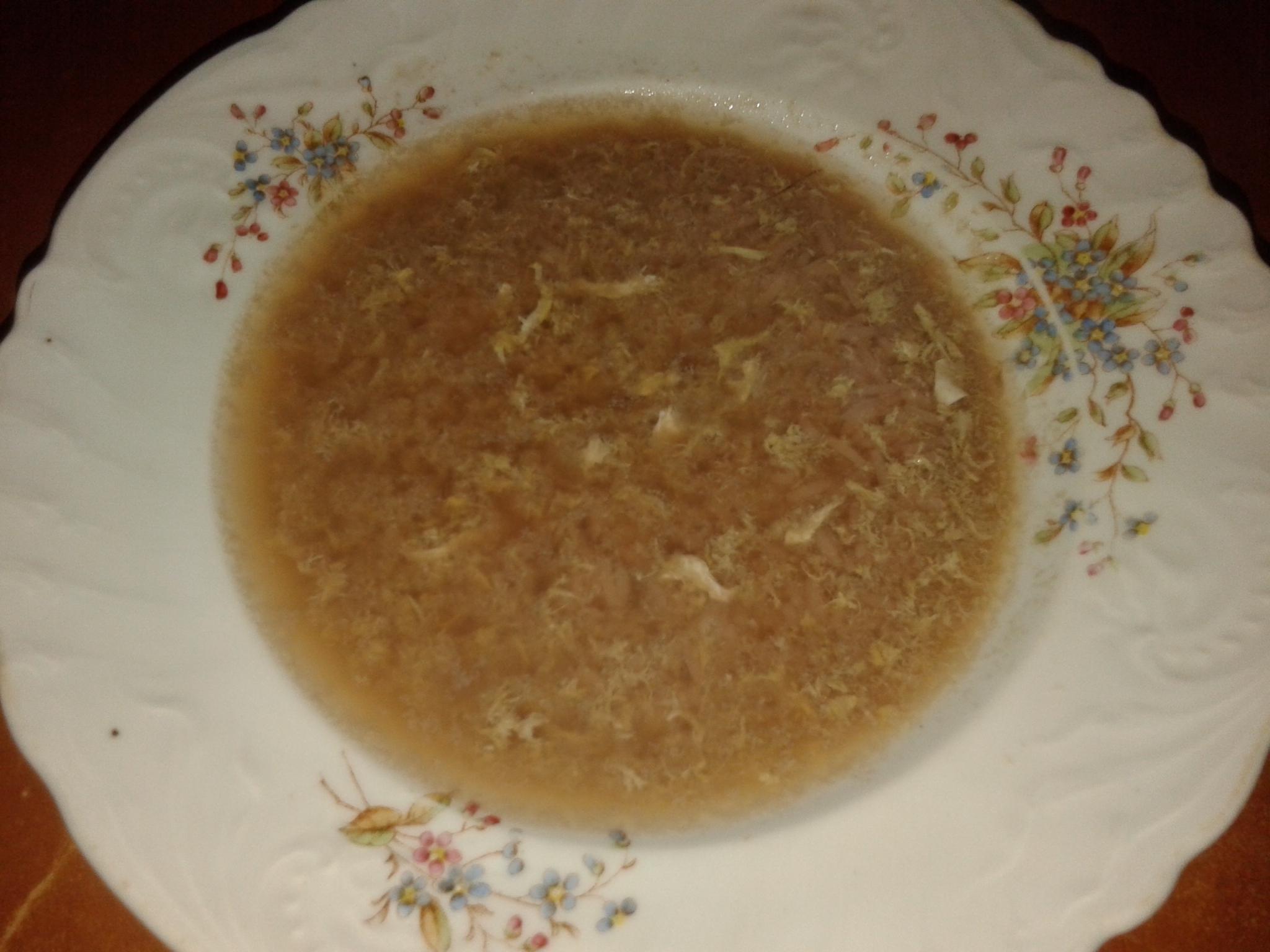 Kukuřičná polévka s rýží