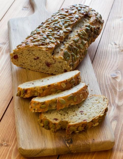 Fotografie receptu: Dýňový chléb s dýňovými semínky
