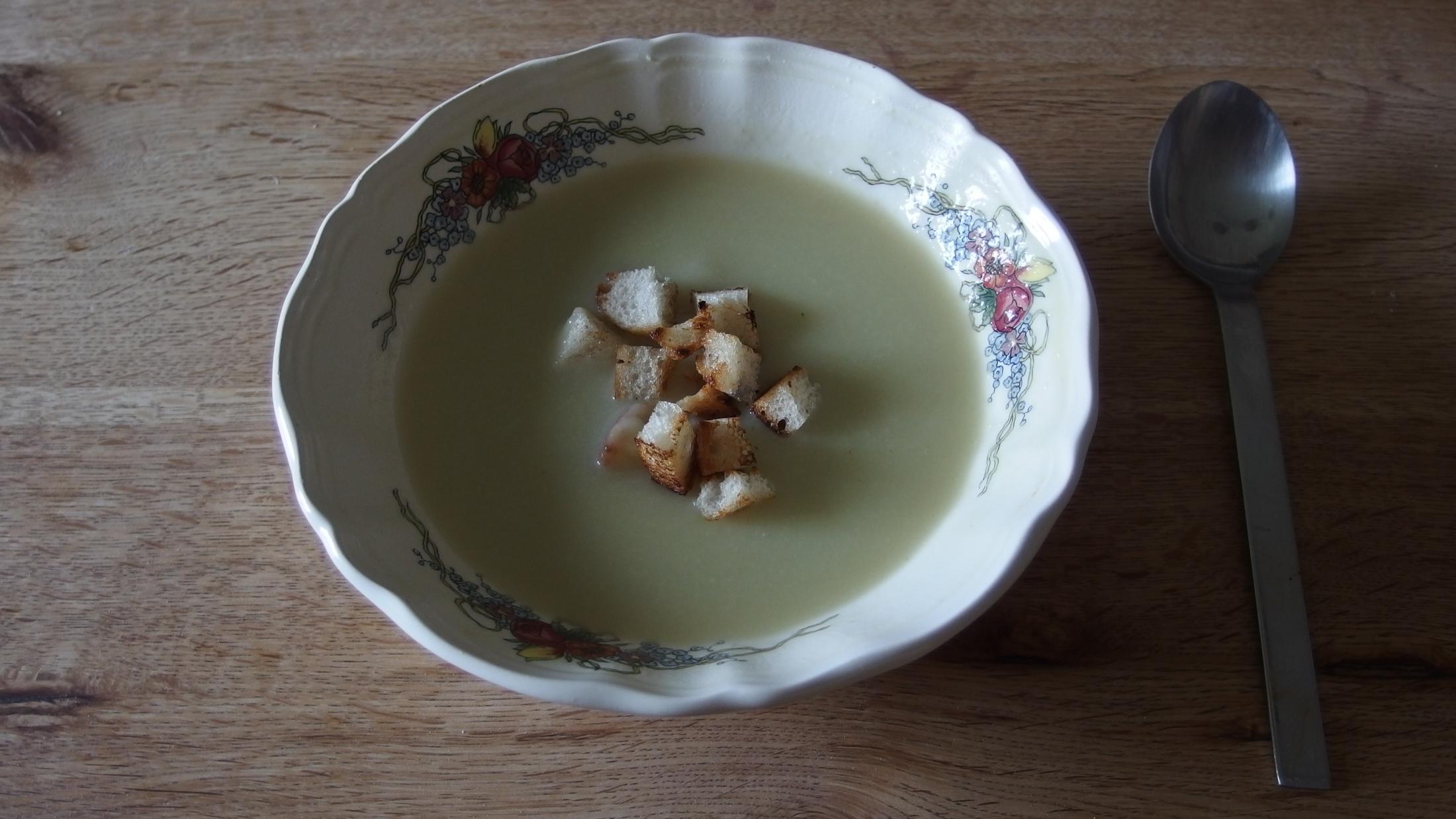 Jančina krémová cuketová polévka
