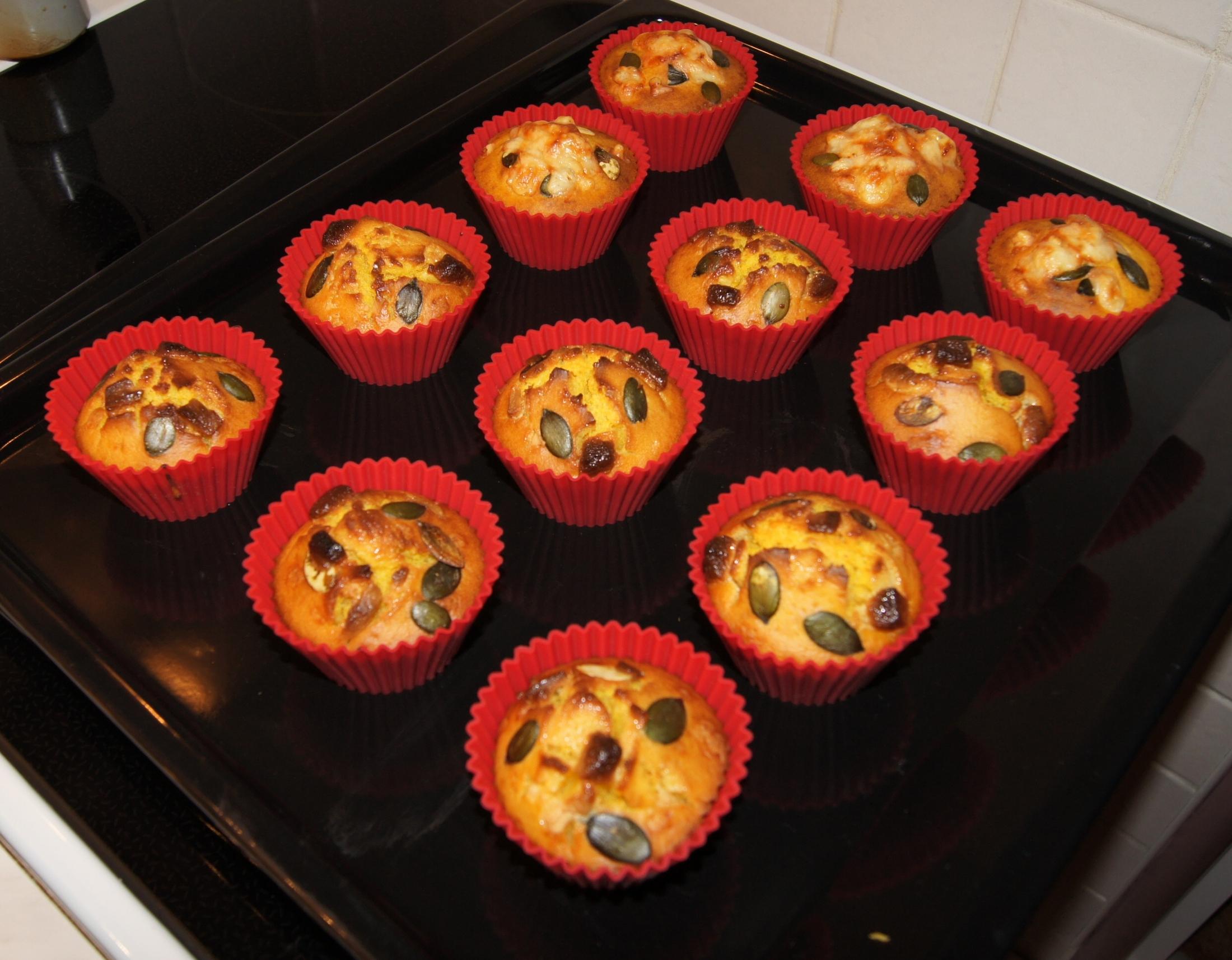 Sladké dýňové muffiny