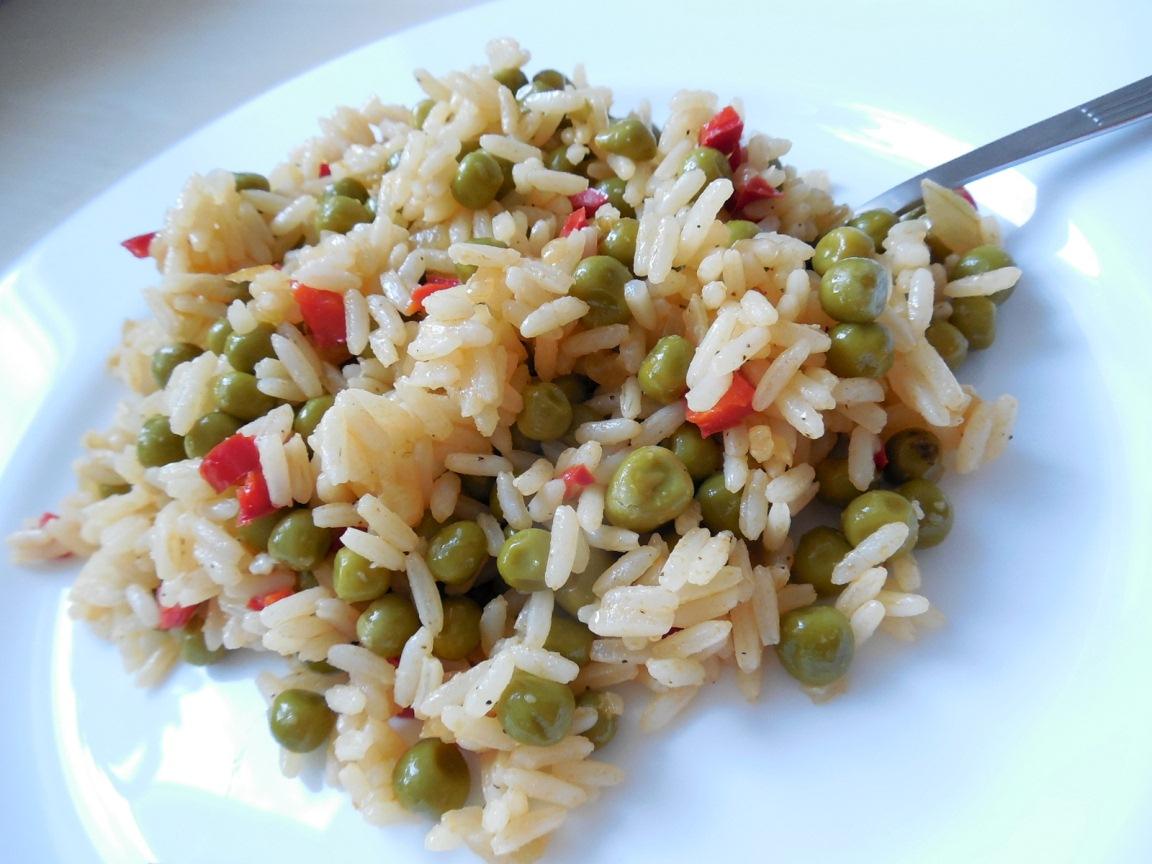 Papriková zeleninová rýže