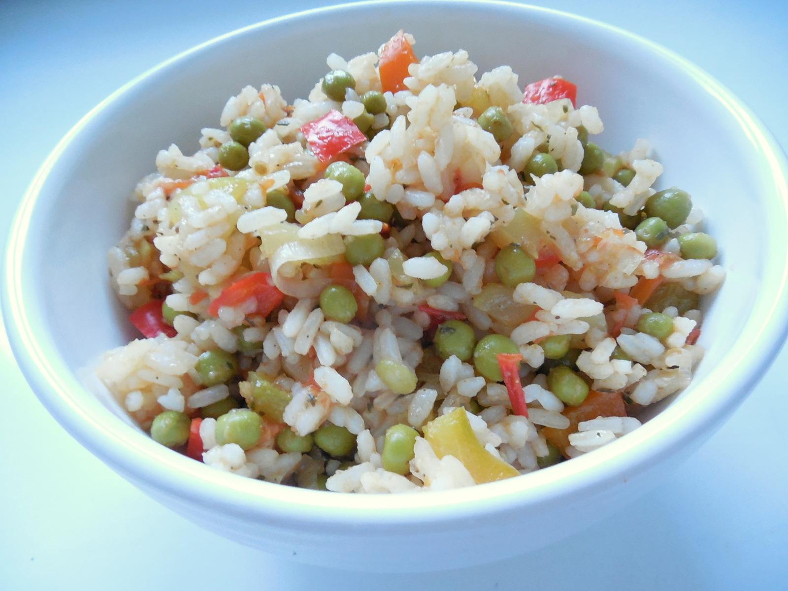 Šťavnaté cuketovo-paprikové rizoto