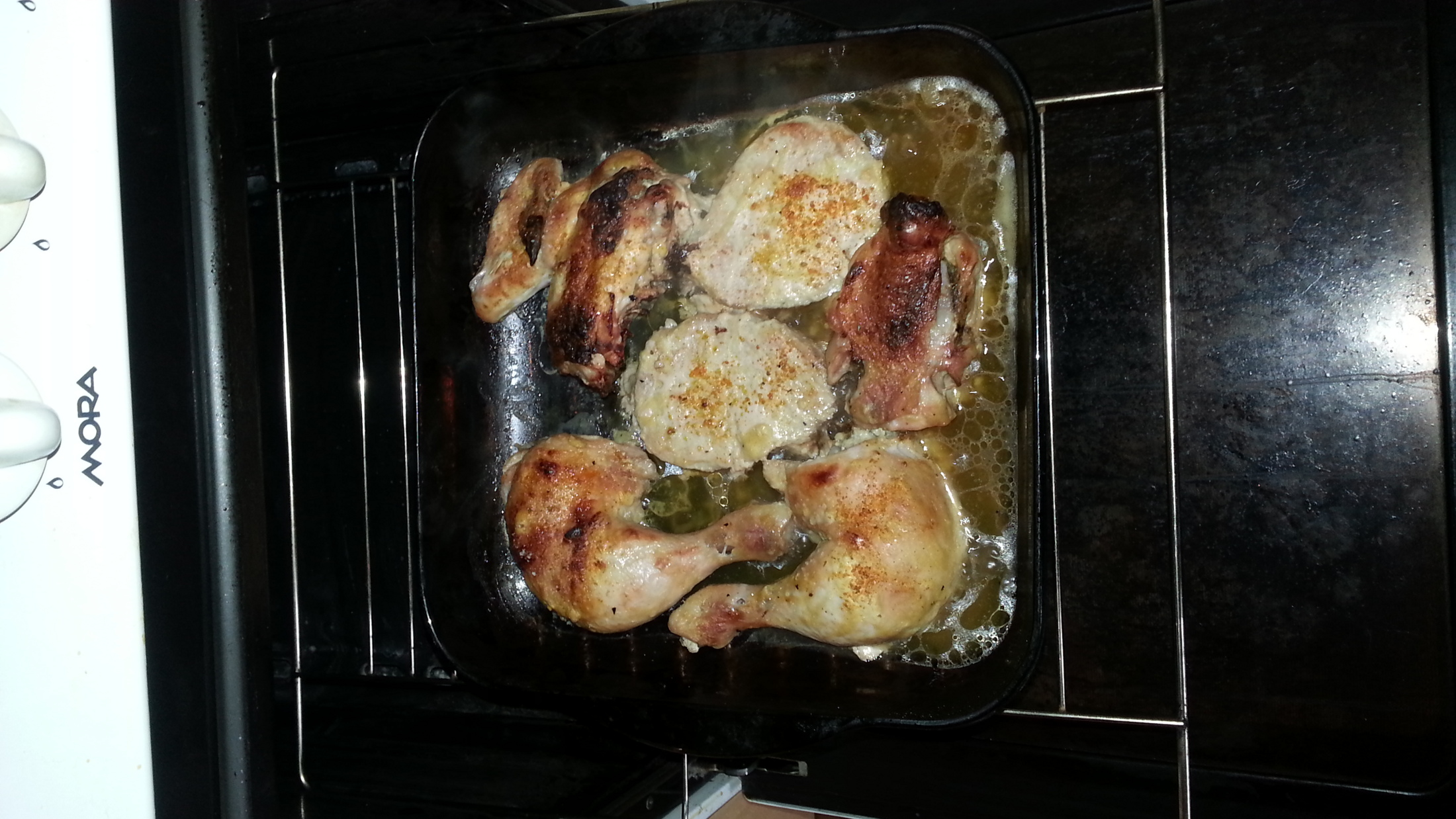 Zlaté kuře s křupavou kůrkou