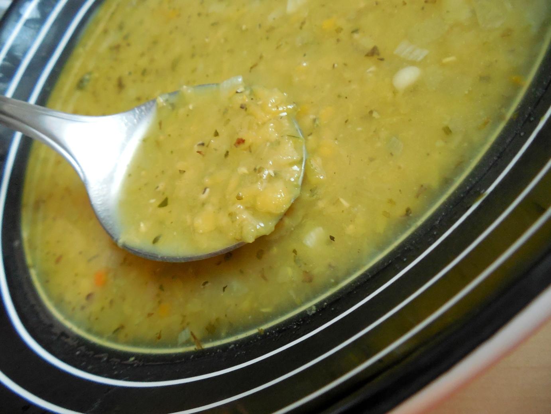 Čočková polévka s bramborem