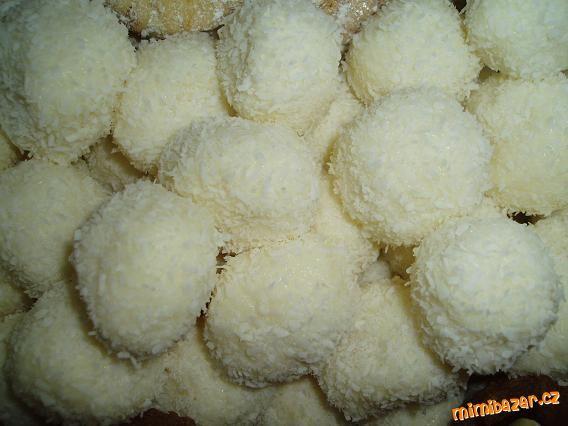 Kokosové kuličky Raffaello
