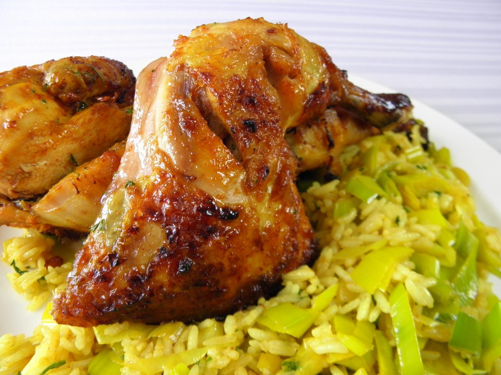 Fotografie receptu: Šťavnaté kuře na indický způsob