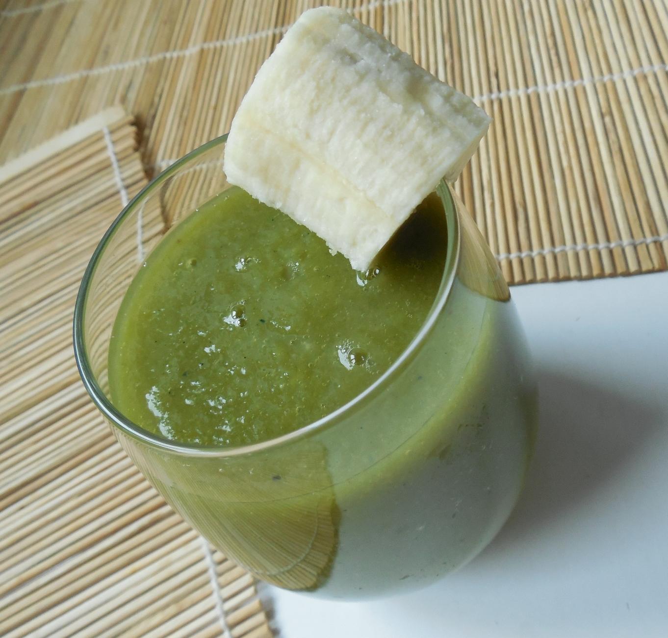 Mango smoothie s chlorellou