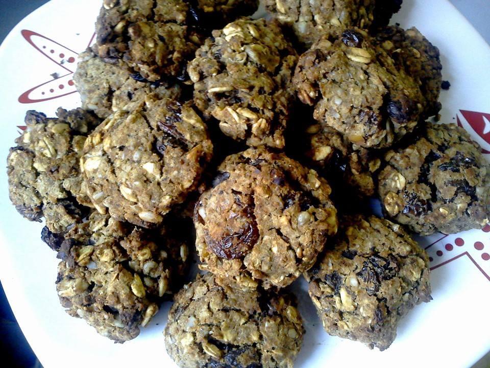 Veganské cizrnové sušenky