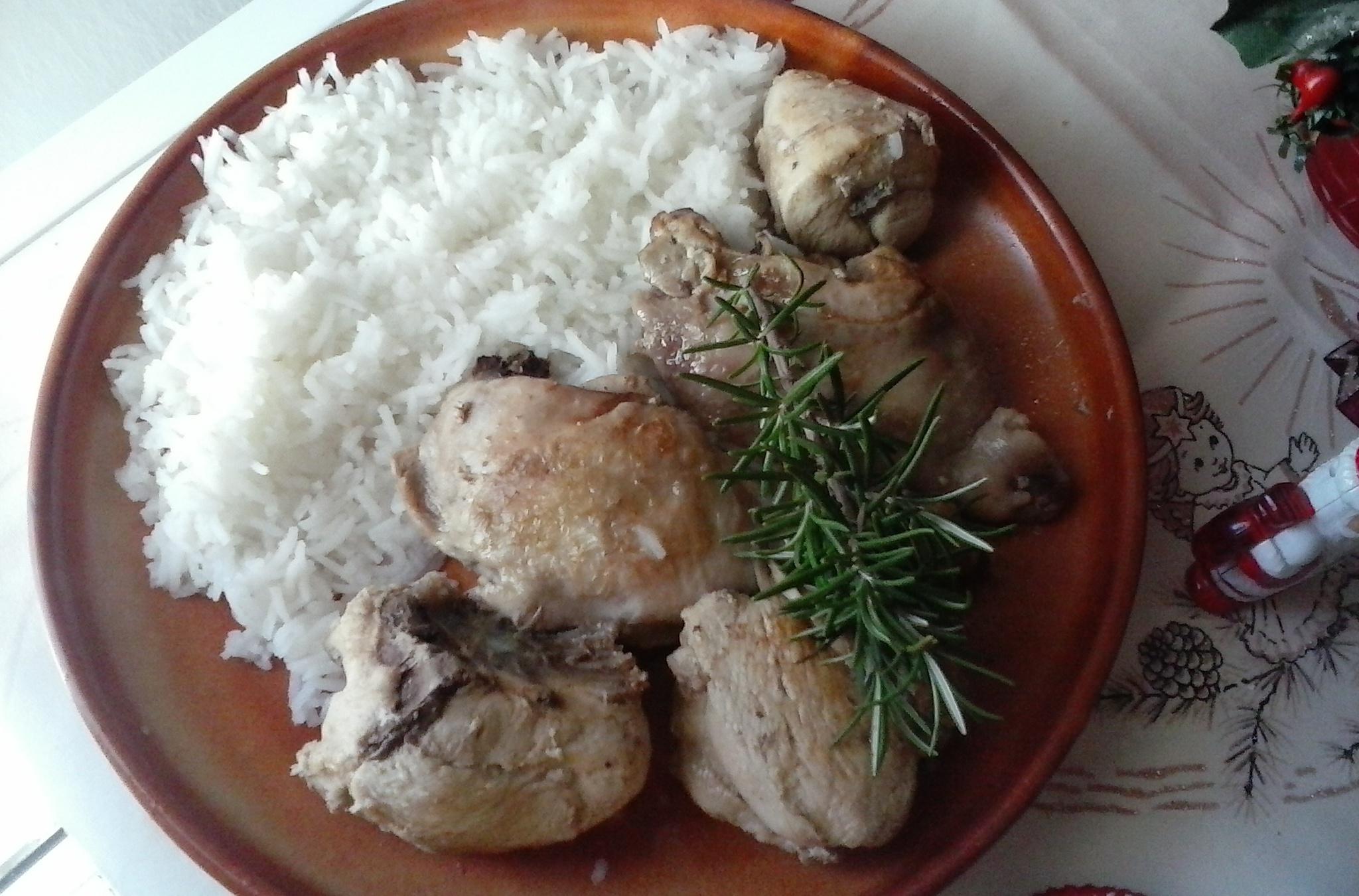 Fotografie receptu: Dietnější kuře s rozmarýnem