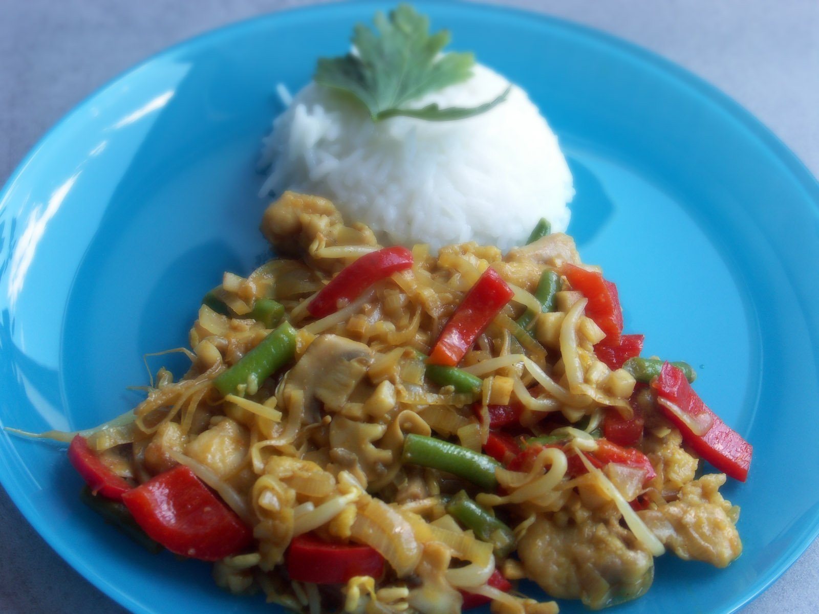 Fotografie receptu: Kuřecí směs Chop Suey