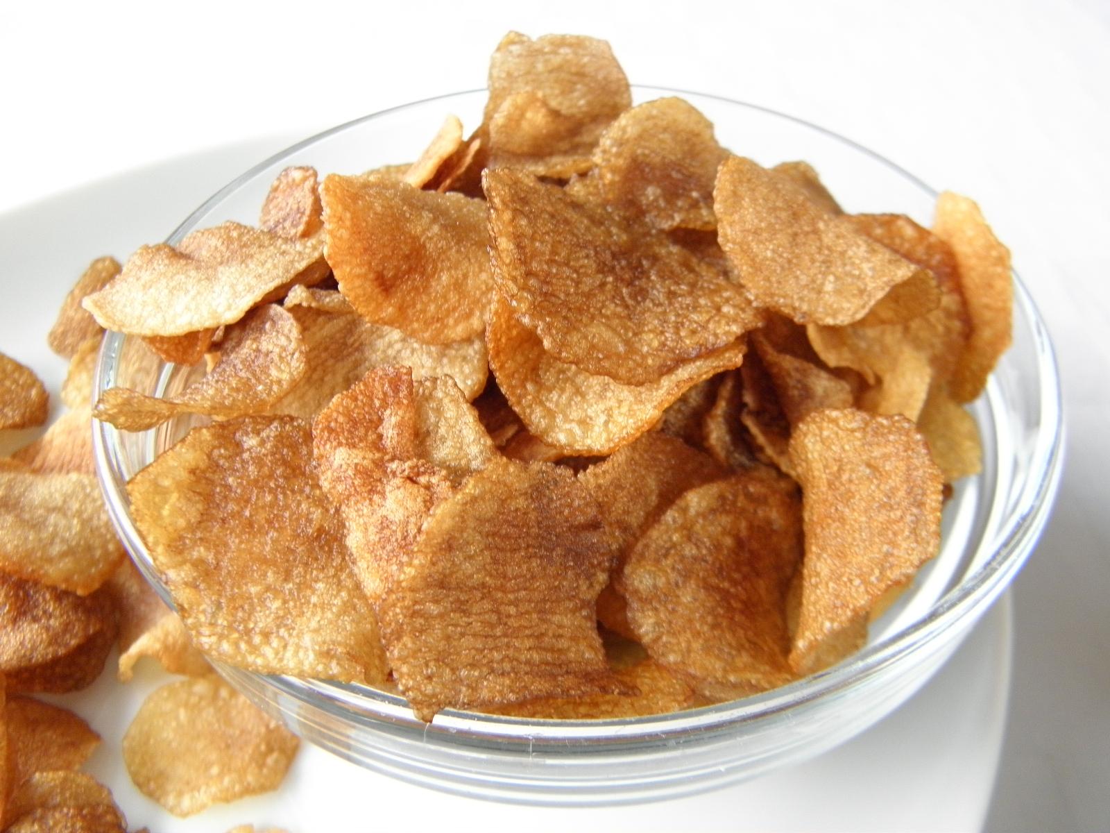 Domácí bramborové lupínky