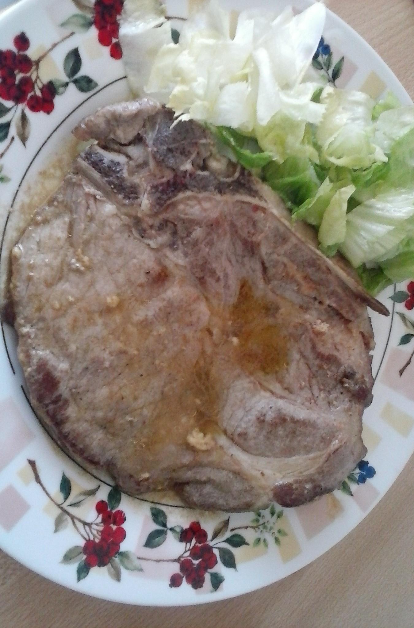 Fotografie receptu: Marinovaná vepřová krkovice s hořčicí
