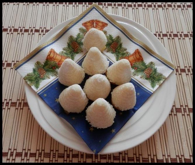 Vosí hnízda s kokosem
