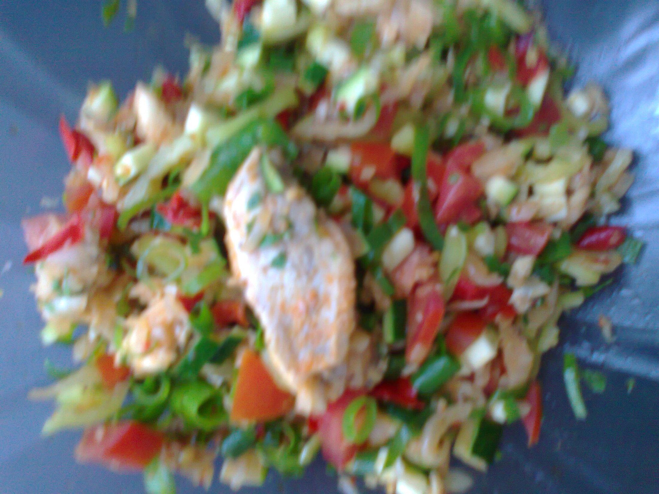 Chutný pepřenkový salát