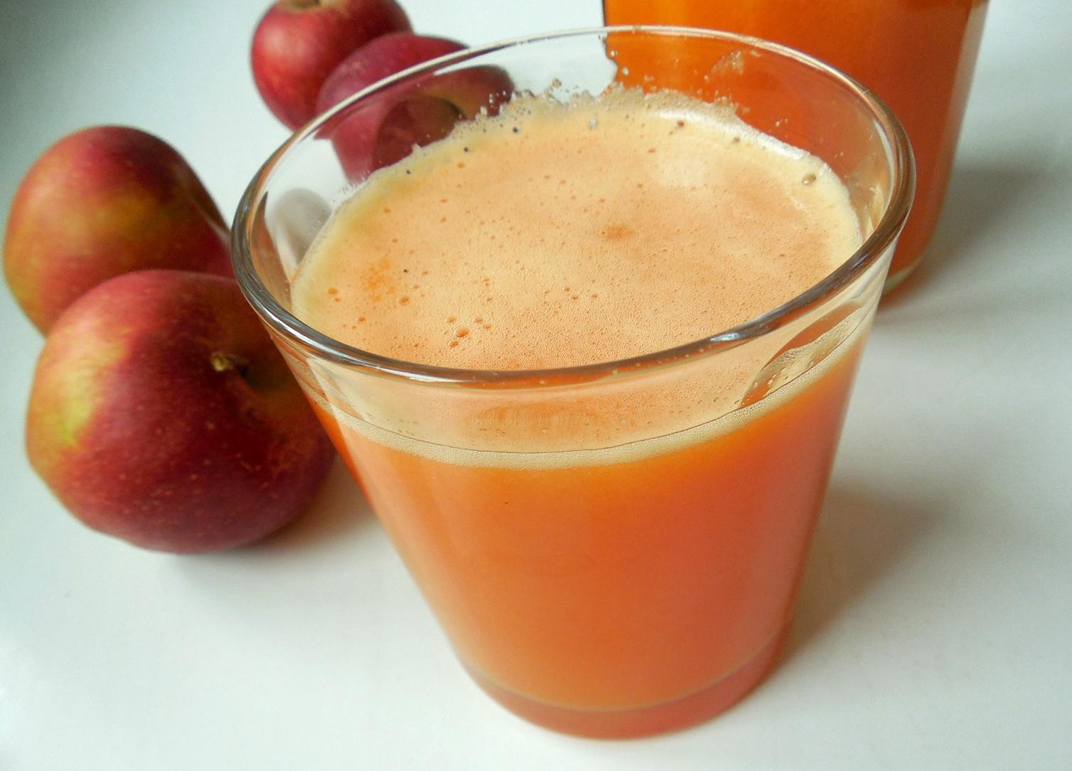 Jablkovo-mrkvový fresh
