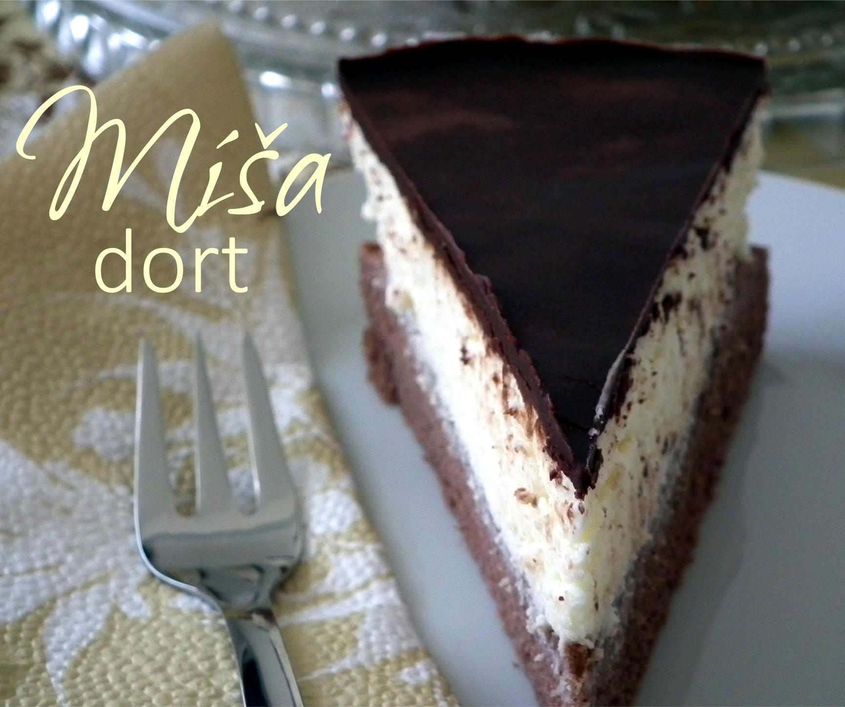 Míša dort - česká klasika